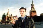 Album 'Time And Again' of Jelly Bean Bandits on Red Square in Moscow, Russia